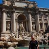Fontana di Trevi with me!