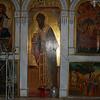 Paleokastritsa Monastry of the Blessed Virgin, Corfu, Greece.