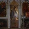 More religious art in the Paleokastritsa Monastery of The Blessed Virgin.