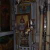 Inside the monastery church at Paleokastritsa