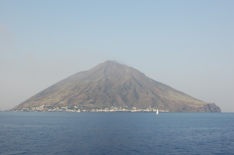 #11 Day 2, 08/30/07  Just due north of the Stromboli volcano.
