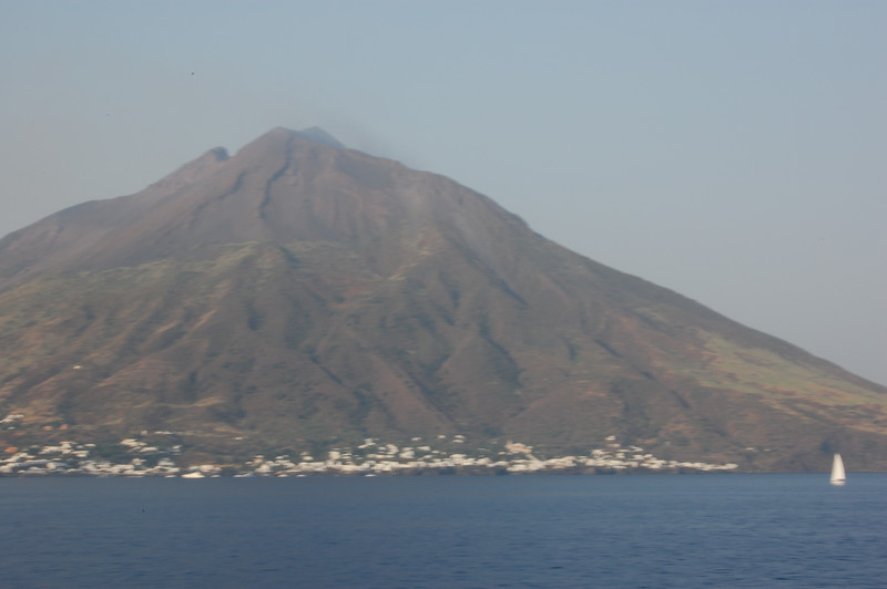 #13 Day 2, 08/30/07  Another view of Stromboli.