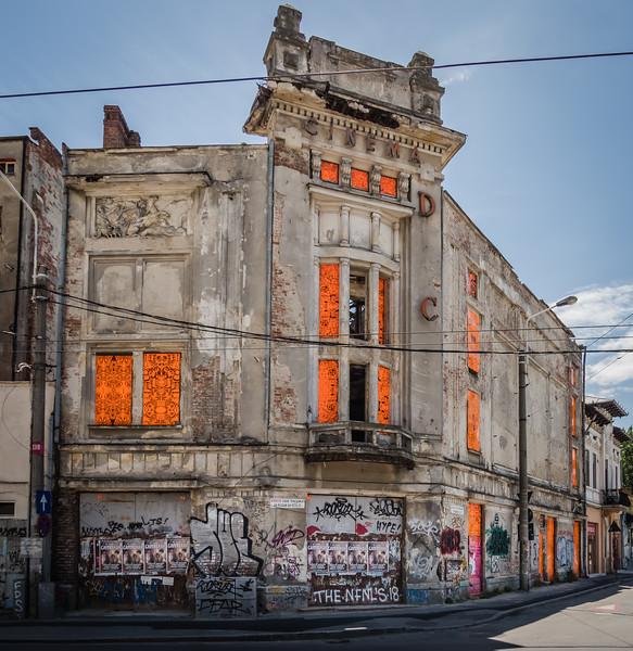 Bucharest Early 20C Movie Theatre