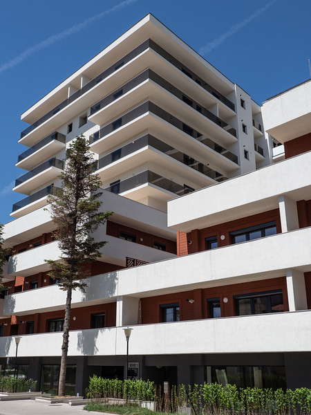 Modern Bucharest Apartment Building