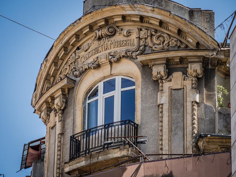 Late 19C Building Detail, Bucharest