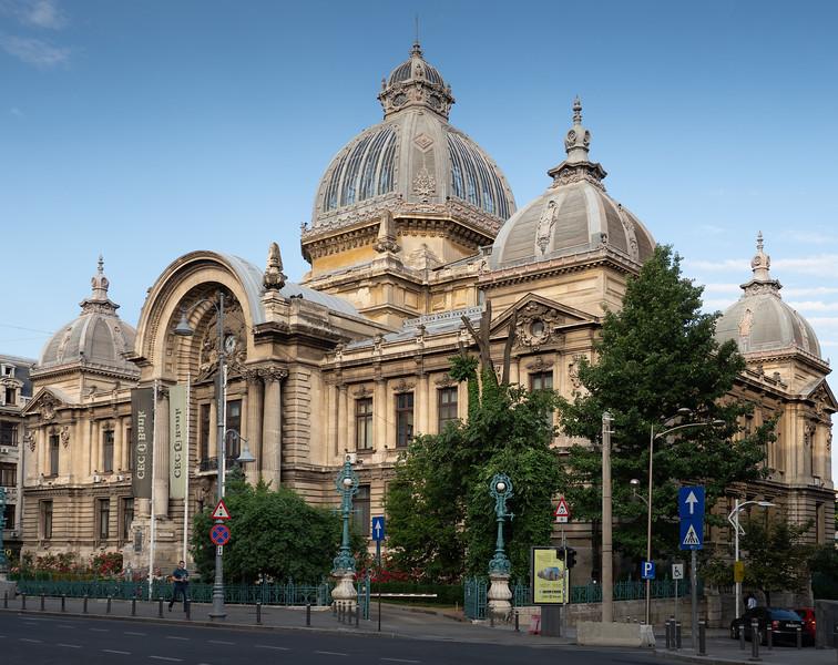 CEC Palace (1900), Bucharest