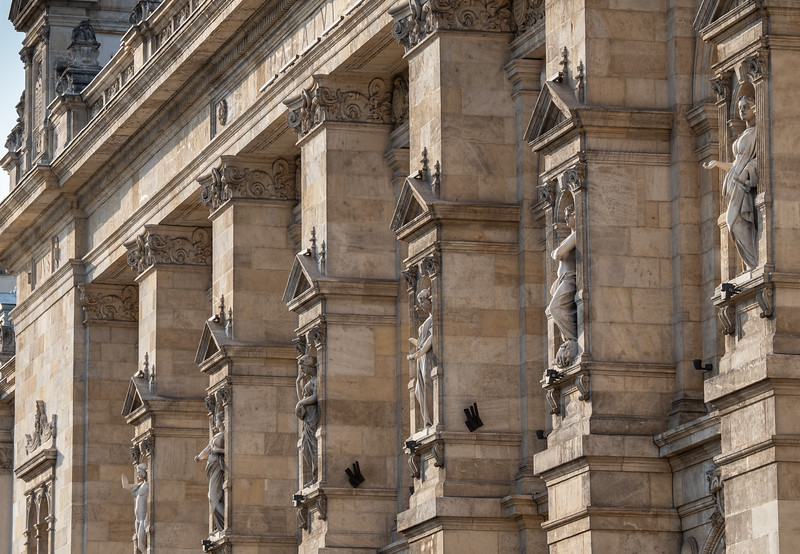 Detail Palace of Justice (1895), Bucharest