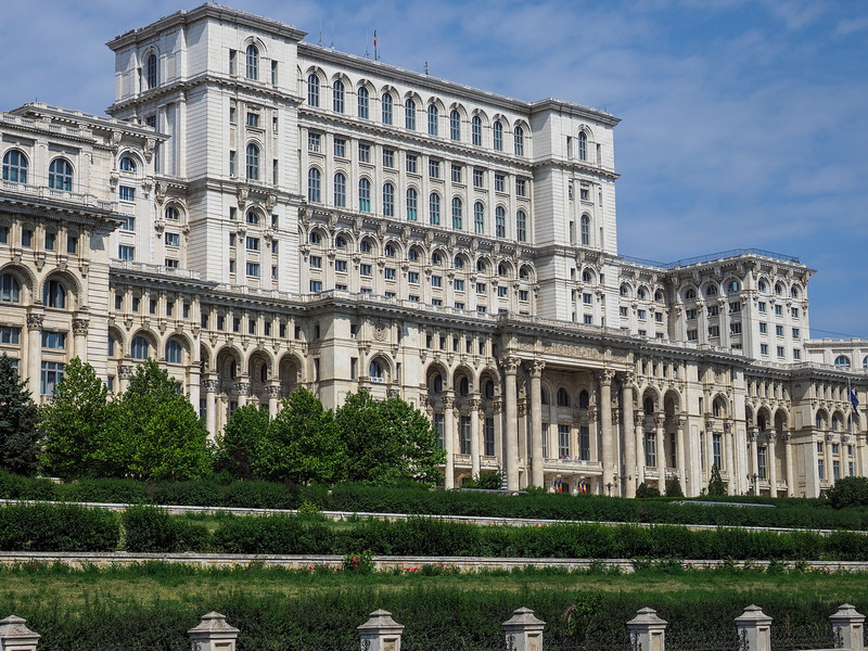 Palace of Parliment Built in the 1980's by Ceausescu