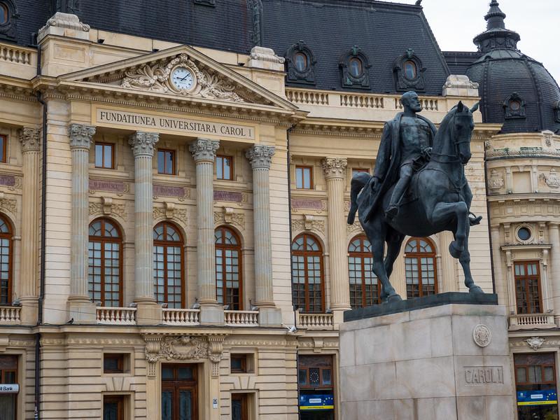 Statue of King Carol I