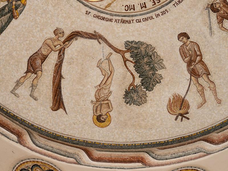 Patriach's Chapel Ceiling Detail
