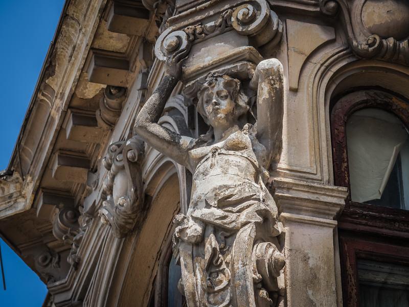 Detail Bucharest Late 19C Building