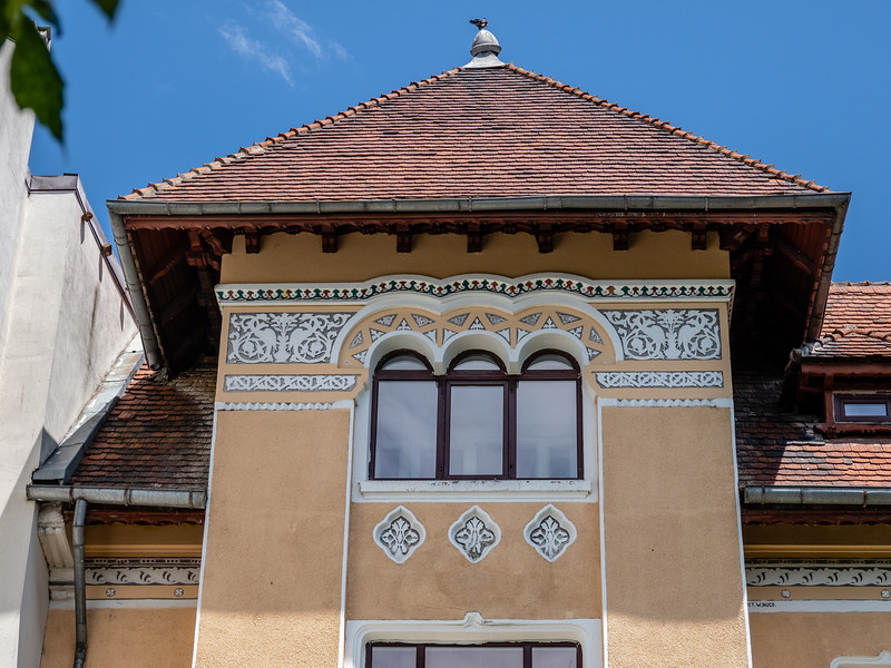 Bucharest Home Built Late 19C in National Romantic Style