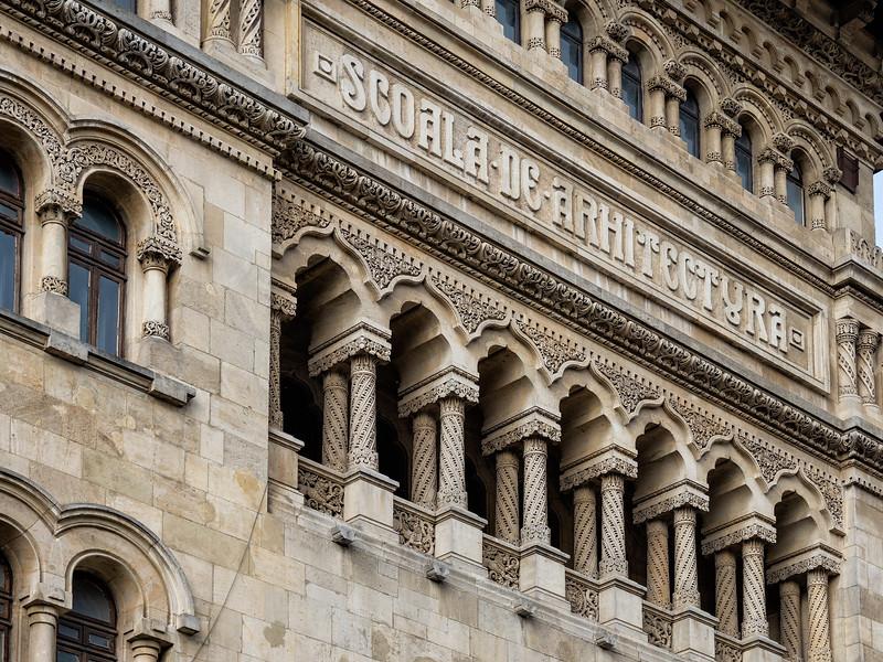 Bucharest School of Architecture (1914, George Cerchez)