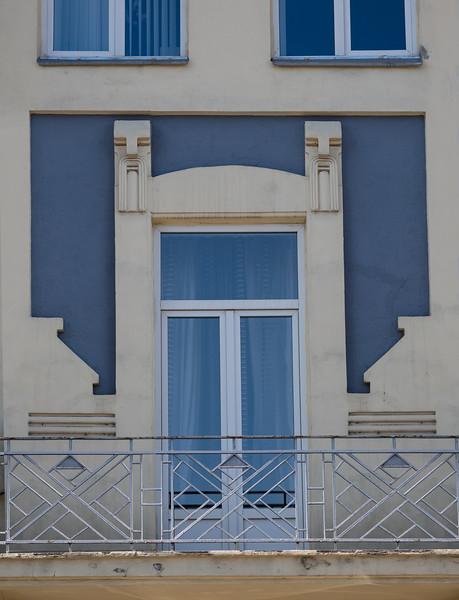 Bucharest Art Nouveau or Deco Building Early 20C