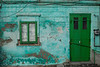 green door, Sighisoara