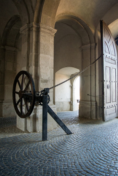 Opening system of the gate - Alba Iulia citadel