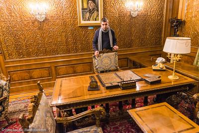 Nicolae Ceaușescu's office