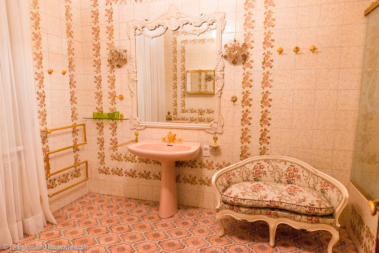 Elena Ceausescu's bathroom