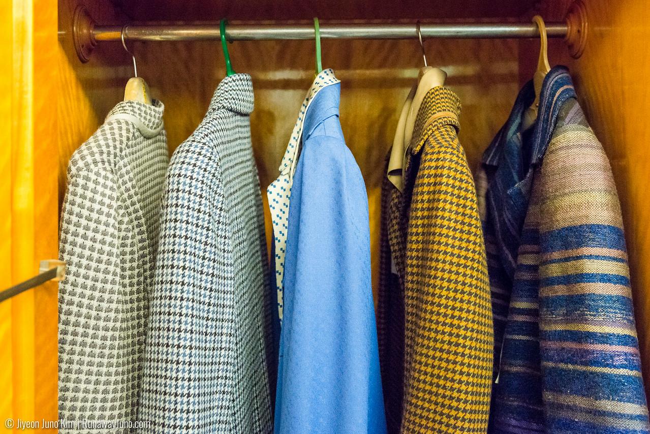 Elena's closet