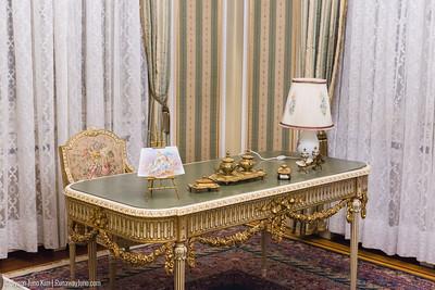 Zoe Ceausescu's office