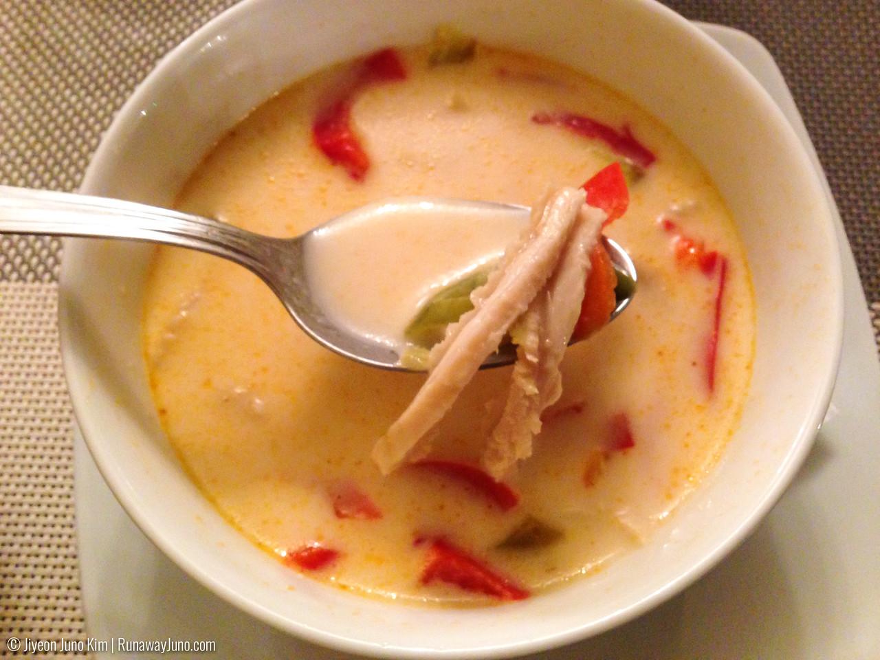 Ciorbă de burtă: tripe soup with sour cream
