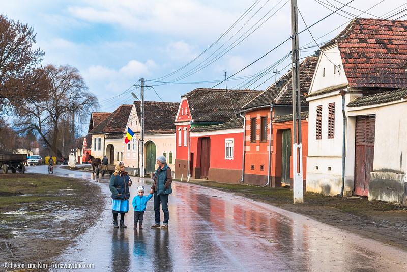 The village life in Viscri