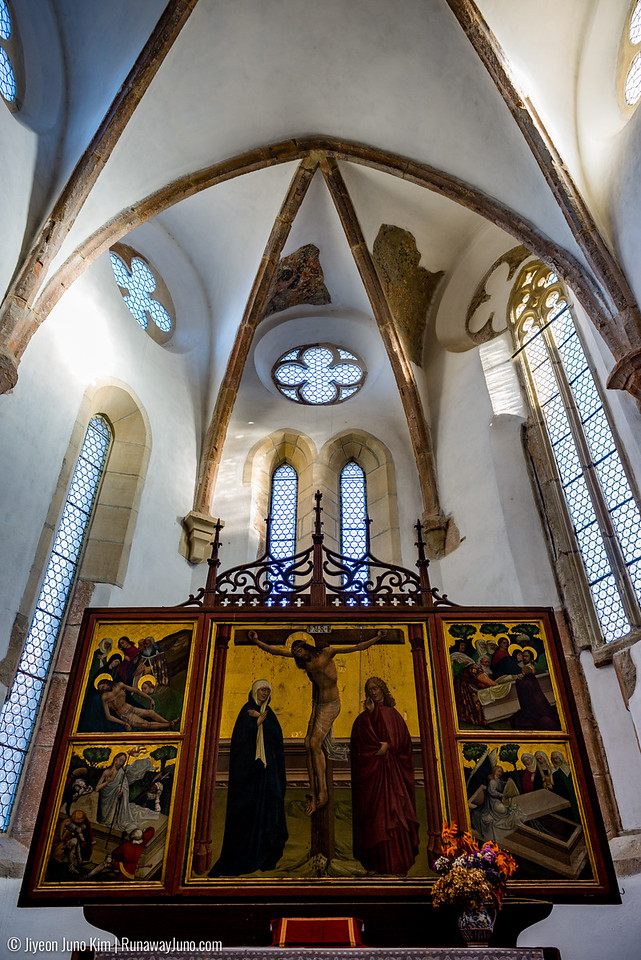 Fortified Church at Prejmer - the alter