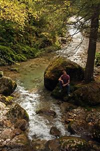 Hiking in the Buchegi Mountains