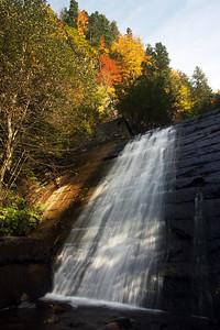 Waterfall on the Trans-Fagarashan road