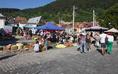the farmer's market, veggies to die for