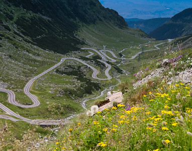 crossing the Carpathian Mountains