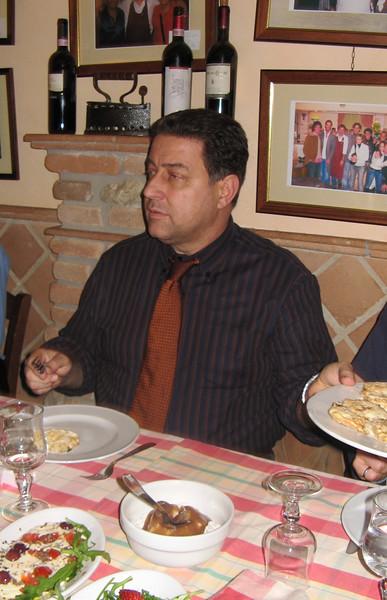 Maurizio our host