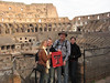 Red Raiders at the Colosseum in Rome.
