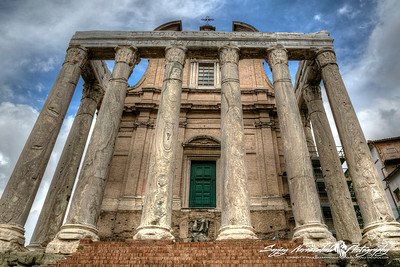 Temple of Antoninus and Faustina, Roman Forum, Rome, Italy, March 11, 2013