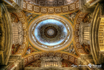 St Peters Basilica - Chapel Dome, Vatican City, March 13, 2013