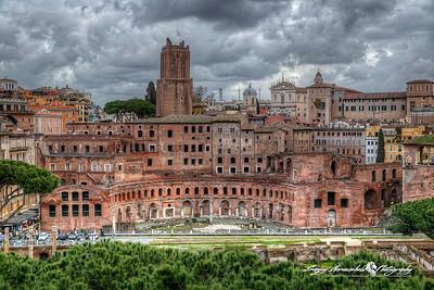 Foro di Traiano, Trajan's Forum (Latin: Forum Traiani), Rome, Italy, March 11, 2013