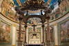 Rome - Basilica of the Holy Cross in Jerusalem, interior scene