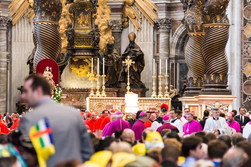 Vatican City - Inside St. Peter's Basilica Test Shot