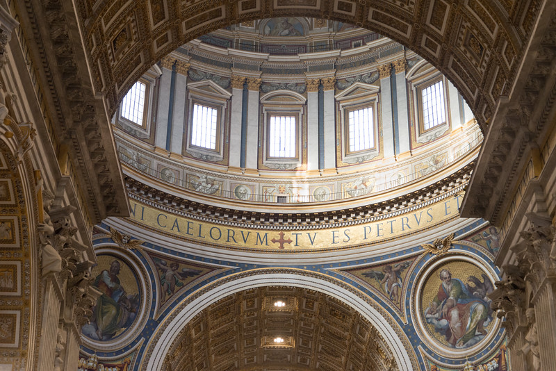 Vatican City - St. Peter's Basilica, the dome