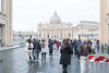 Rome - Entering St. Peter's Square from Via dela Conciliazione