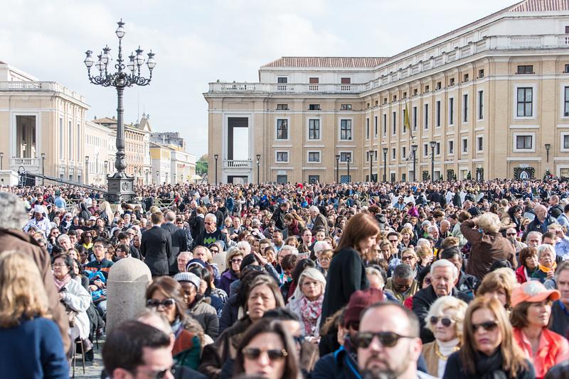 Rome - St. Peter's Square, Mass scene