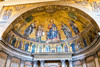 Rome - Basilica of St. Paul Outside the Walls, apse detail