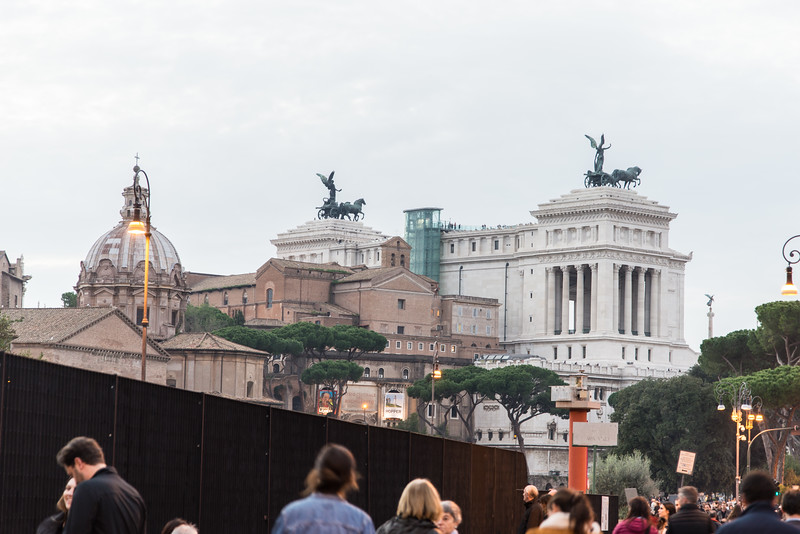 Rome - View of Altare della Patria monument