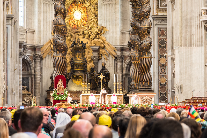 Vatican City - St. Peter's Basilica, Consistory: Pope Francis remarks