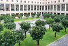 Rome - Pontifical North American College, courtyard view