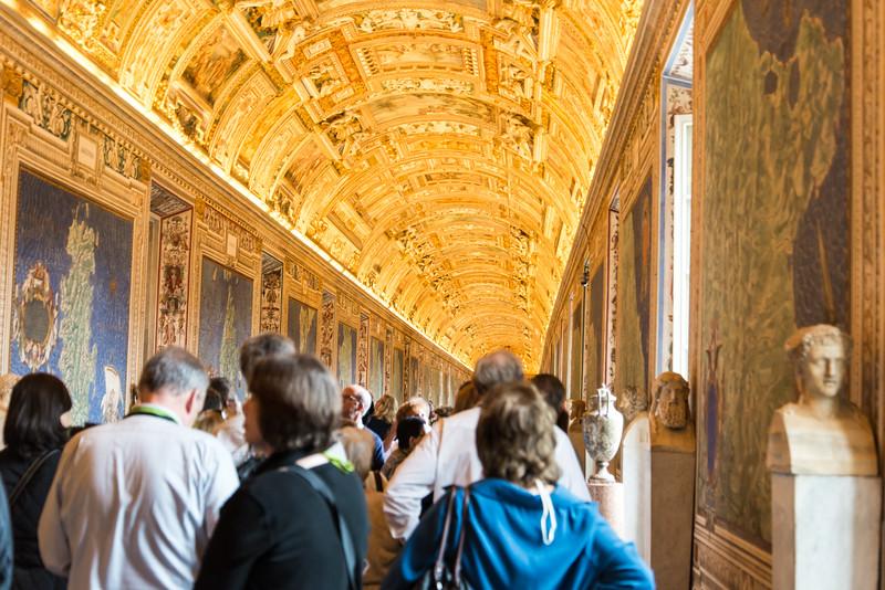 Vatican City - Vatican Museum tapestry display