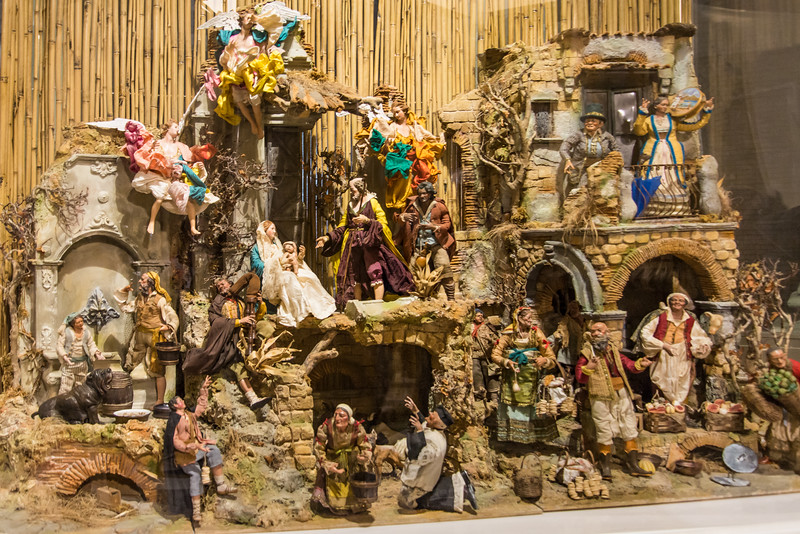 Vatican City - Palace of the Governorate, nativity scene