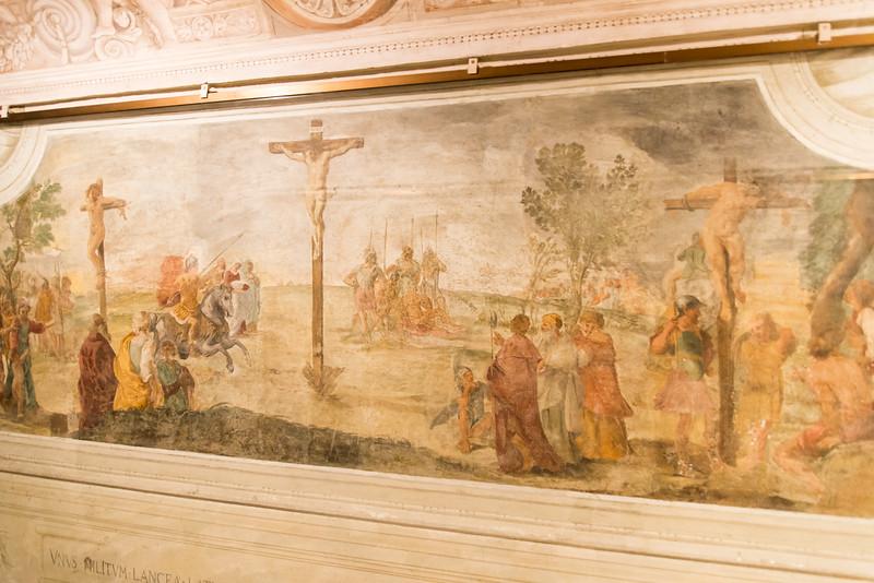 Vatican City - St. Peter's Basilica, St. Peter's crypt artwork