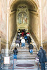 Rome - Scala Sancta (Holy Stairs) that led to the praetorium of Pontius Pilate in Jerusalem on which Jesus Christ stepped on his way to trial