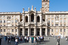 Rome - Basilica of St. Mary Major, main entrance